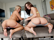 Bree Olson & Gracie Glam in Yo-Face!