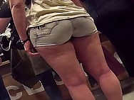 thick legs with arse