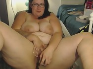BBW Web camera Angel Masturbate 5