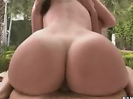 Kelly Divine & Sydney Thomas. Those girls are new to the biz and man are they packing some huge asses!