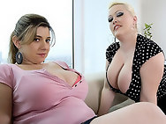 2 sexy and horny big titty women, who bring toys. Hell, theres nothing wrong with that in my book! As long as theyre all nice and wet for a nice fucking afterwards...its all good.