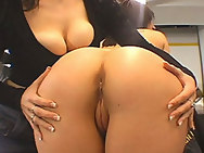 a precious old fashion double booty fuck job